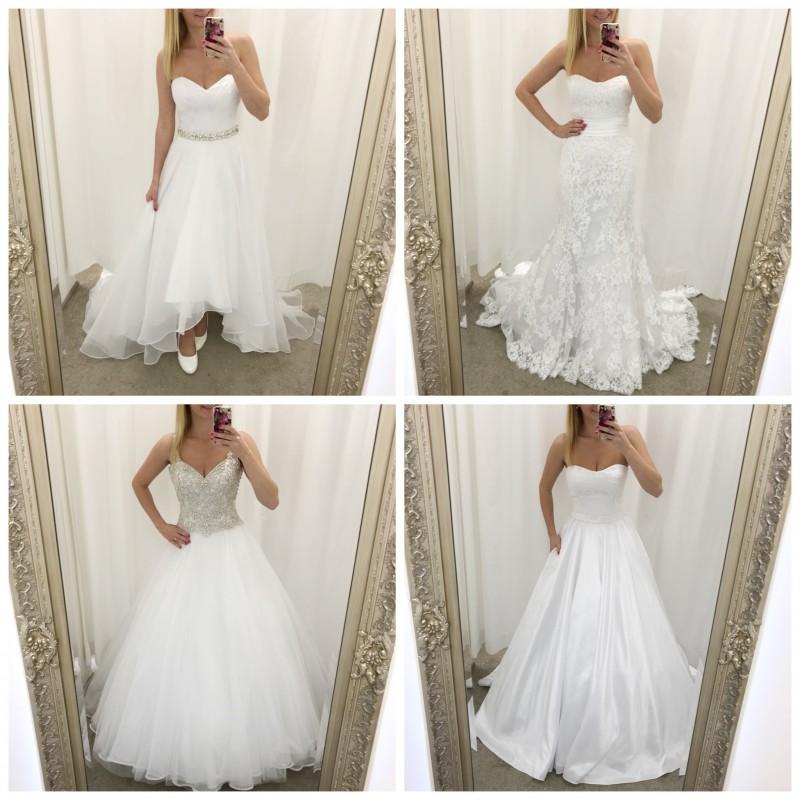 Velký výprodej svatebních šatů!  45b12e0cf5