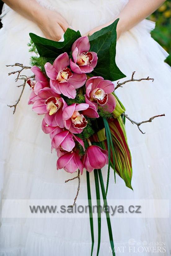 Svatebni kytice ze stabilizovaných  květin