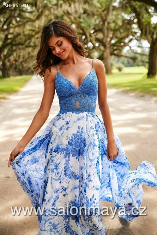 Sherri Hill 52858 sherrihill-52858-blueivoryprint-dress-1.jpg-600.jpg