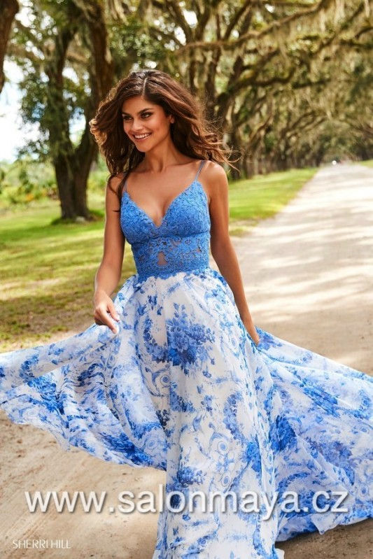 Sherri Hill 52858 sherrihill-52858-blueivoryprint-dress-2.jpg-600.jpg